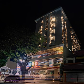 ABC HOTEL CEBU Hotel Front - Evening/Night