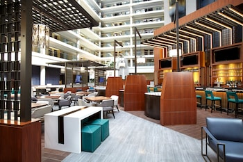 Lobby Sitting Area at The District by Hilton Club in Washington