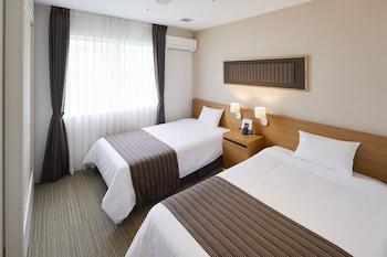 スタンダードツインルーム 風呂トイレセパレート又はユニットバス(選択不可)(12 歳以下のお子様は添寝利用。12歳以下のお子様で「ベッド」/「ベッド・朝食」利用の場合は大人の人数にてご予約願います)|20㎡|ハウステンボス 変なホテル