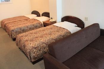 ベーシック トリプルルーム シングルベッド 3 台 禁煙|ホテル 八幡坂