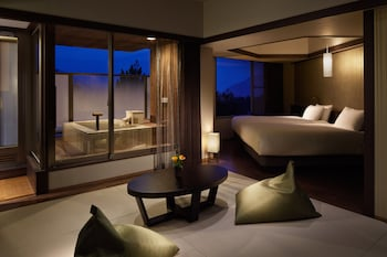 Premier Deluxe Japanese Western Room with Private Open Air Bath