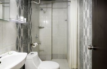 Treebo Tals Hytek, Hi-Tech City - Bathroom  - #0