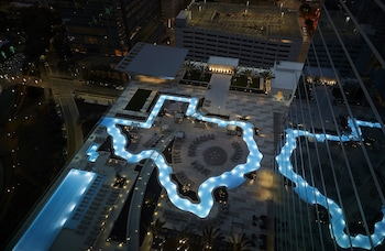 Aerial View at Marriott Marquis Houston in Houston