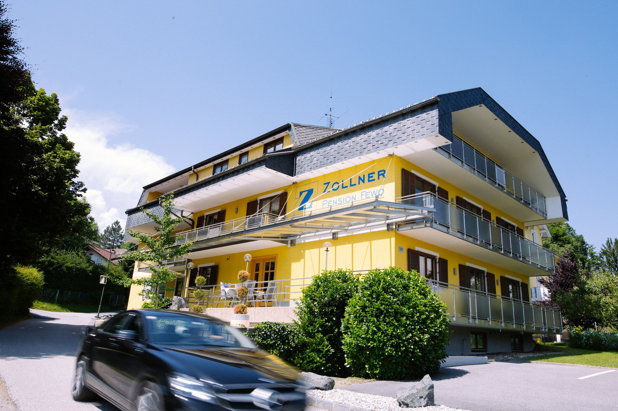 Ferienwohnungen - Appartements Pension Zollner, Villach