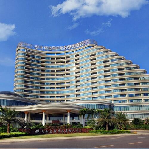 . Golden shinning new century grand hotel