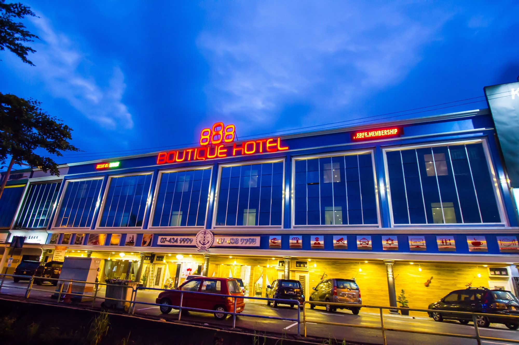 888 Boutique Hotel, Batu Pahat