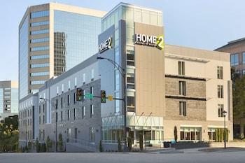 格林維爾市區希爾頓惠庭飯店 Home2 Suites by Hilton Greenville Downtown