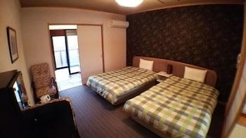 和洋室5人部屋 204号室 禁煙 冷蔵庫 Wi-Fi 40㎡ 湯楽庵 みやざき