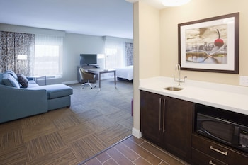 Studio, 2 Queen Beds, Non Smoking, Refrigerator & Microwave (Wet Bar)