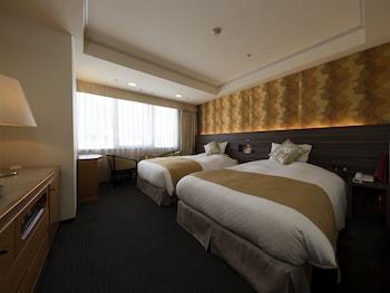 ツインルーム(1名利用) シティビュー|23㎡|KKRホテル熊本