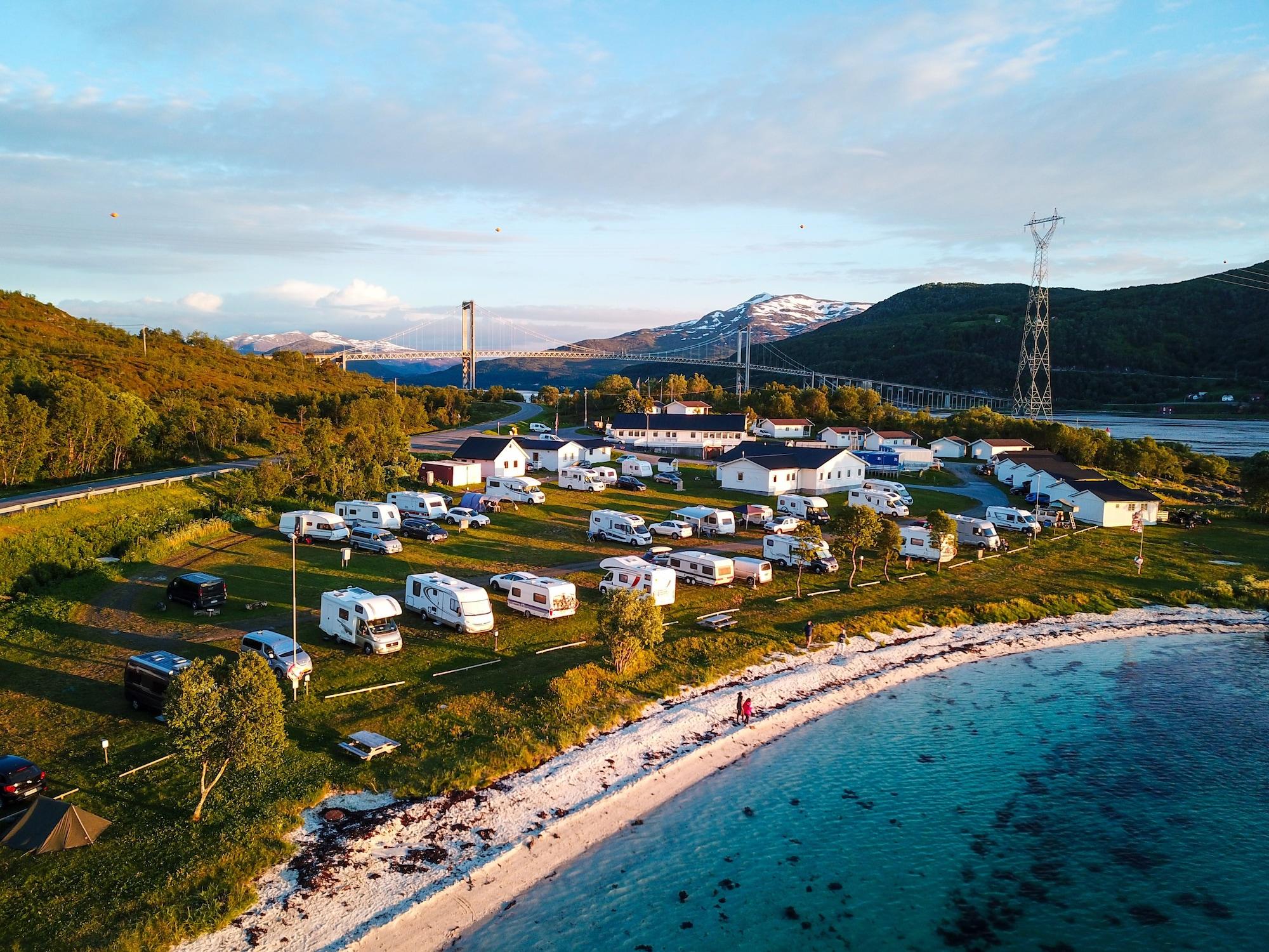 Tjeldsundbrua Camping, Skånland