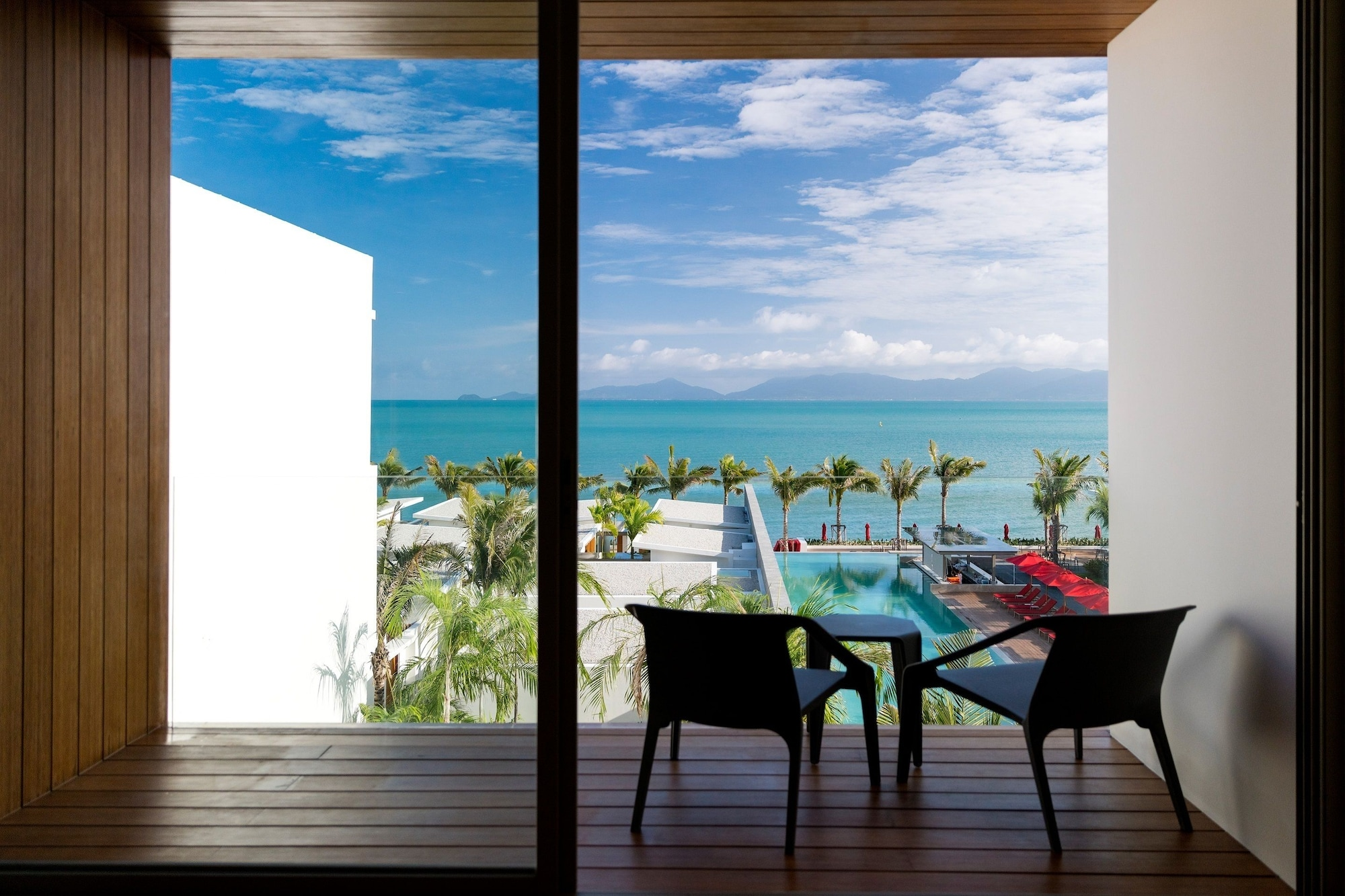 Deluxe Seaview Double or Twin Room