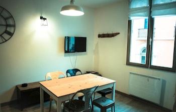 比亞里茨海濱 4-5 人開放式公寓飯店