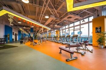Haili New Century Grand Hotel Haiyan - Gym  - #0
