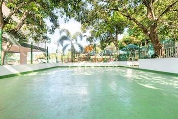 OYO 151 TIERRA MERCEDES NATURE RESORT Basketball Court