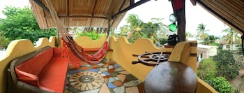 Lonesome George Ecolodge - Terrace/Patio  - #0
