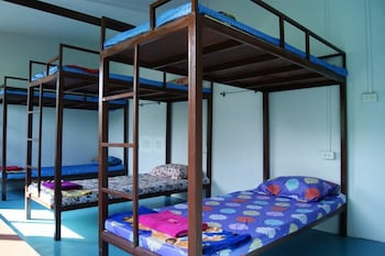 Dormitory Room with Fan