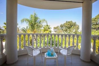 Sunset Beachfront Villa Meneou - Balcony  - #0