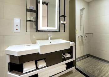 Uinn Business Hotel - Taipei Shilin - Bathroom  - #0