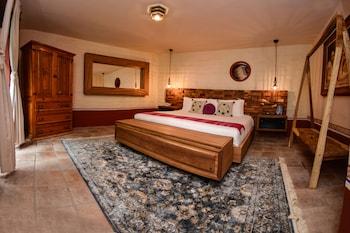 Family Tek Büyük Yataklı Oda, 2 Yatak Odası, Bahçe Manzaralı