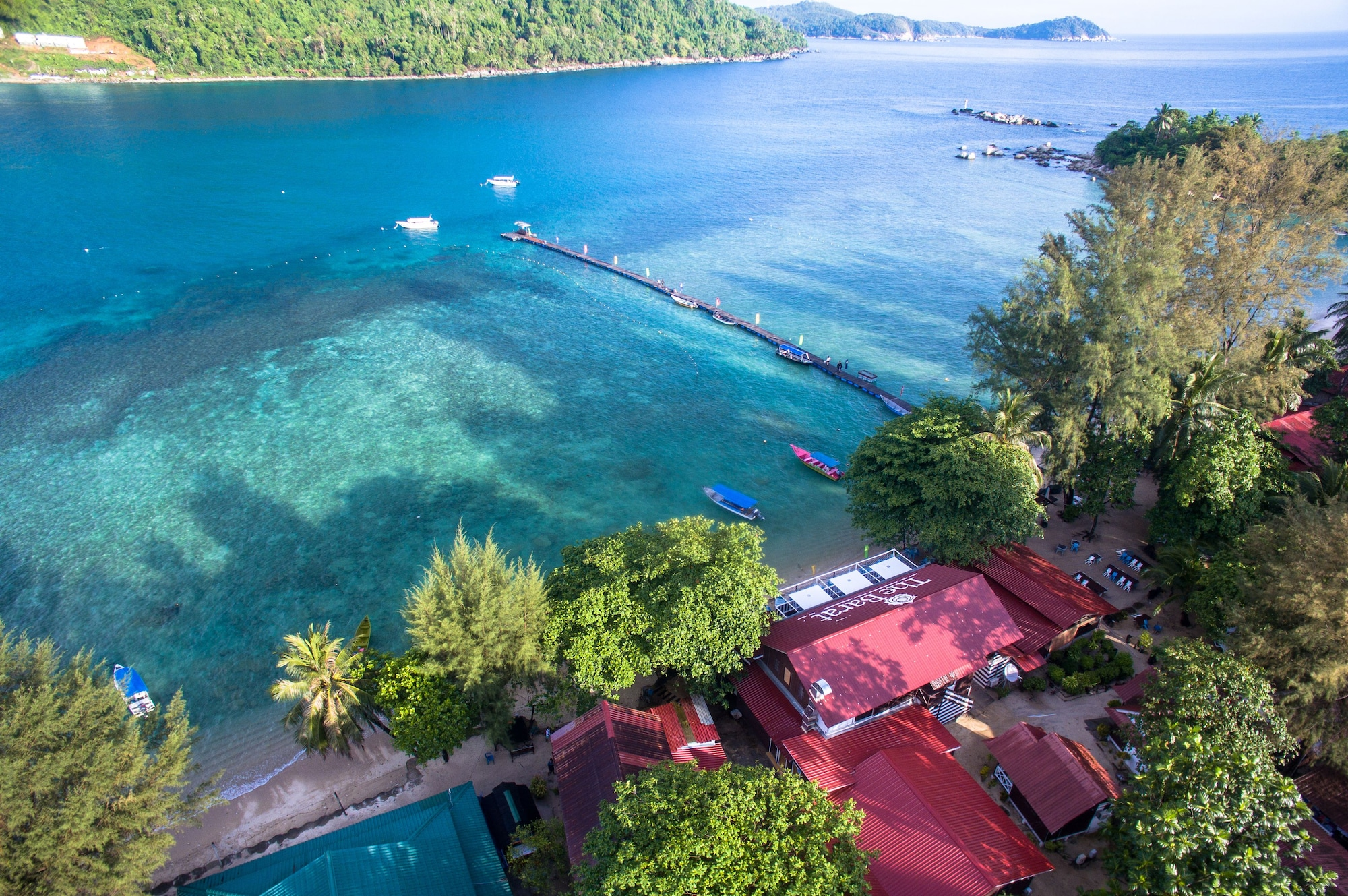 The Barat Perhentian Beach Resort, Besut