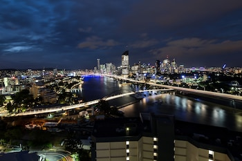 View from Hotel at Swiss-Belhotel Brisbane in South Brisbane