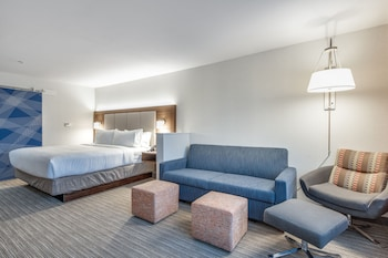 Suite, 1 King Bed, Accessible, Non Smoking (Roll-In Shower)