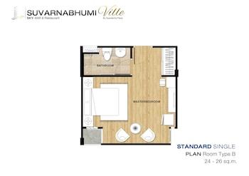 Suvarnabhumi Ville Airport Hotel - Guestroom  - #0