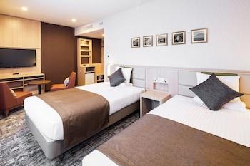 ツインルーム 2 ベッドルーム バリアフリー 禁煙|ホテルマイステイズ富士山 展望温泉