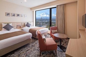 スタンダード ツインルーム マウンテンビュー|19㎡|ホテルマイステイズ富士山 展望温泉