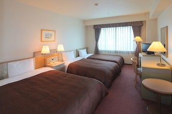 Twin Room with 1 Extra Bed, Smoking