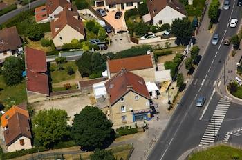 Café de la gare - Aerial View  - #0