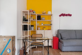 Apartment Alésia Denfert Rochereau - Smartrenting - Living Room  - #0