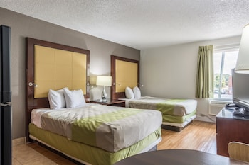 Deluxe Room, 2 Double Beds, Non Smoking, Kitchen