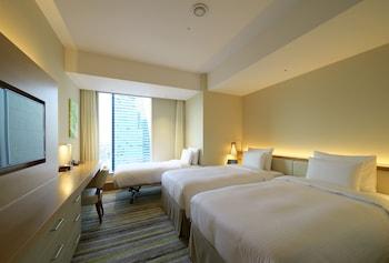 デラックス ツインルーム 禁煙 コーナー 37㎡ 名古屋 JR ゲートタワーホテル