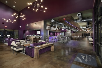 Lobby Sitting Area at Grand Canyon University Hotel in Phoenix