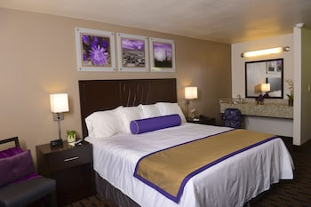 Guestroom at Grand Canyon University Hotel in Phoenix