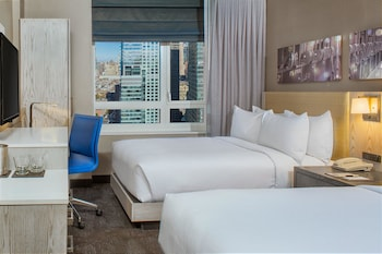 Guestroom at DoubleTree by Hilton New York Times Square West in New York