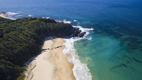. Beachfront Hallidays Point