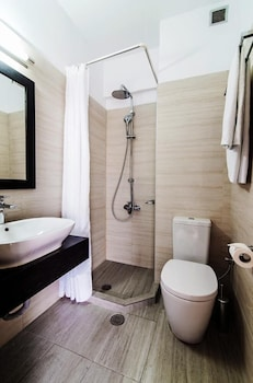 Polydoros Hotel Apartments - Bathroom  - #0