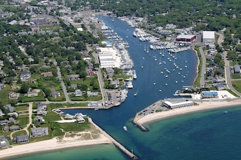 Cape Cod Home at Falmouth Harbor by RedAwning