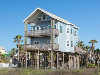 Elegant Beachfront Home in Galveston by RedAwning