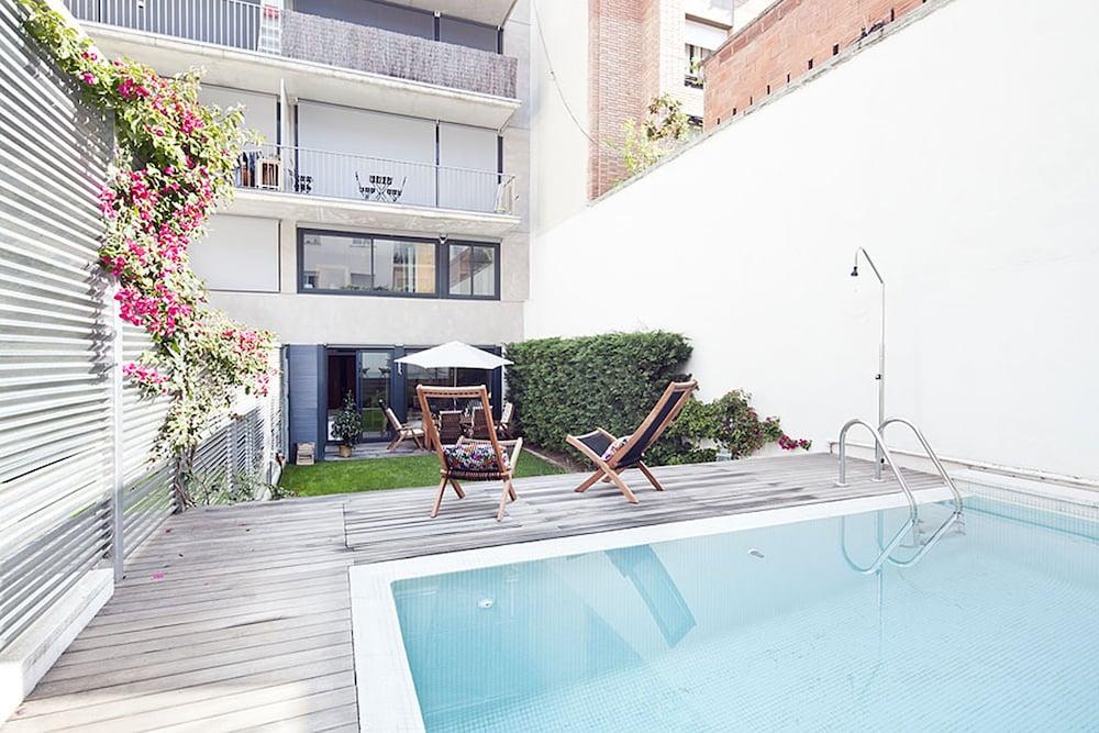 マイ スペース バルセロナ プライベート プール ガーデン