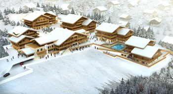 Hôtel Odalys Prestige Le Chamois - Aerial View  - #0