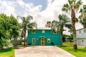 Palm Trees and Bay Views in Rockport by RedAwning