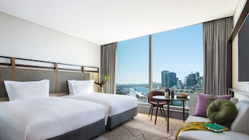 Superior Room, 2 Double Beds, Harbor View (Club Millésime Benefits)