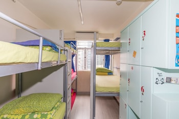 Economy 7-Bed Room, Shared Bathroom