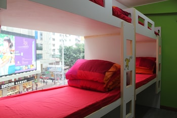 1 Bed in 9-Bed Mixed Dorm, Shared Bathroom