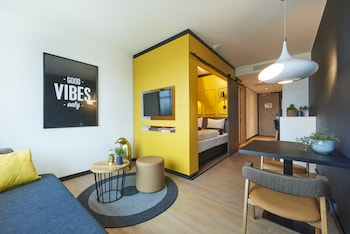 城市上巢穴南阿姆斯特丹公寓飯店