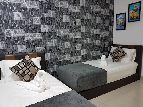 LK De Centrum 2 Bedroom Suites Apartment, Kuala Lumpur